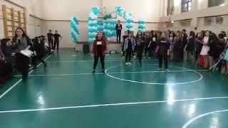 Девченки порвали зал.Классное выступление в колледже города Алматы!