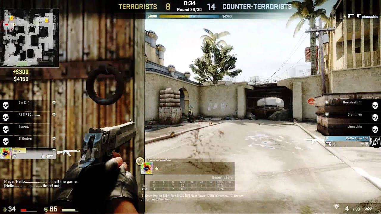 how to be better with the deagle cs go