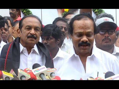 Vaiko, Dindigul Leoni Pay Last Respects to MS Viswanathan   Death Video