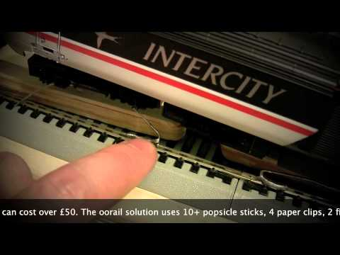 oorail.com | How to build a OO Gauge DIY Rolling Road