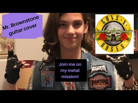 Mr.Brownstone GunsNRoses cover