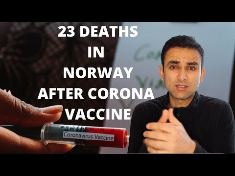ARE PEOPLE  DYING IN NORWAY AFTER CORONA VACCINE [ KNOW THE TRUTH ]