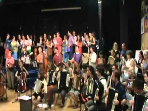 East Coast Balkan Camp American Albanian Student Ensemble 2010 - 4 songs