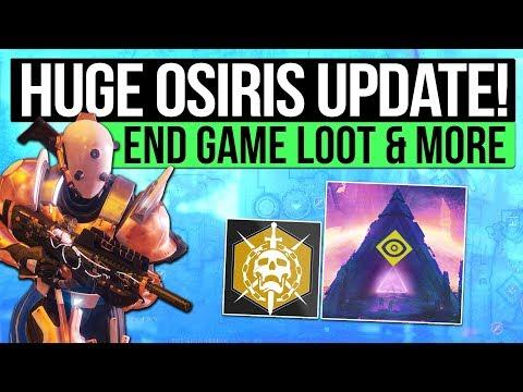 Destiny 2 News   HUGE OSIRIS DLC UPDATE!  Mercury Activities, The Raid, Loot System, PvP Maps & More
