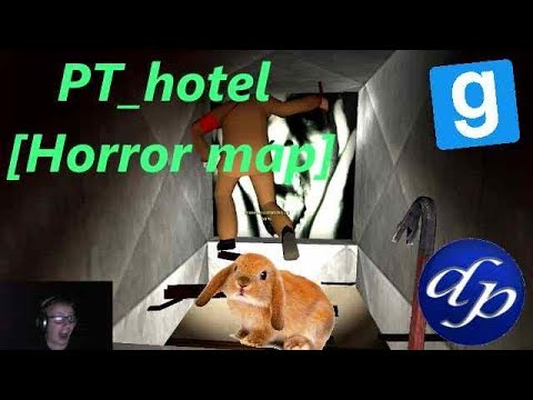 Gmod Horror Map PT (Funny Moments)