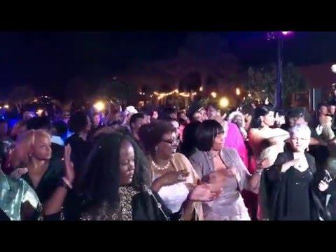 Celebration time during AKA Sorority, Inc. Chartering Gala, Dubai
