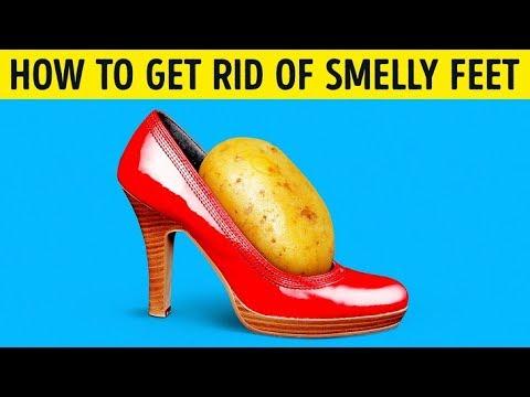 My Smelly Feet Were A Big Problem, Then I Tried the Potato Trick