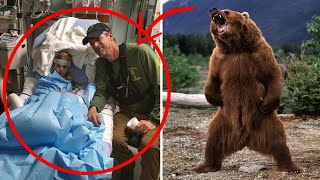 Wild bear took care of a little BOY lost in the forest for 3 days. Police and rescuers were SHOCKED