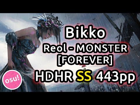 Bikko   Reol - MONSTER [FOREVER]   HDHR SS 443pp   Live Spectate w/ Chat Reactions