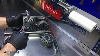 Mercedes C/E/S/ML/GL/G/R - жөндеу компрессордың салқындатқыш. Ауыстыру муфталар.