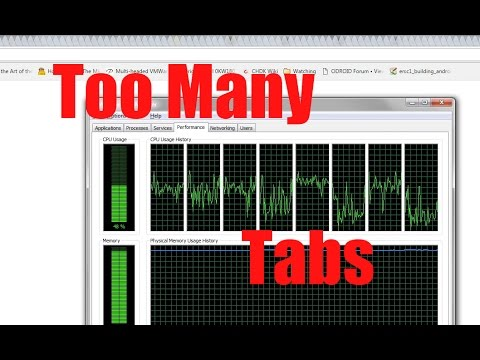 How many chrome tabs can you have with 32GB of ram - Too Many Tabs