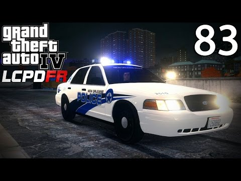 GTA IV LCPDFR 1.0 Day 83 - New Orleans Police Crown Victoria