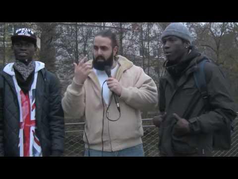 Gambia Artist stony vybz  interview in Germany by mo fresh ( frankfurt freshest )