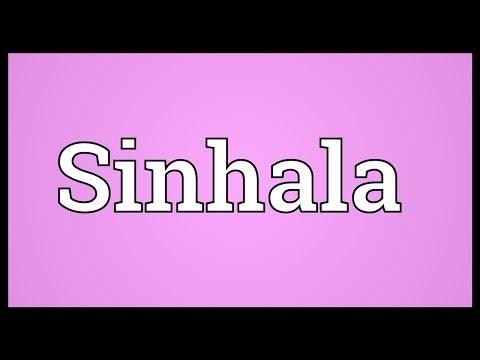 Sinhala Meaning
