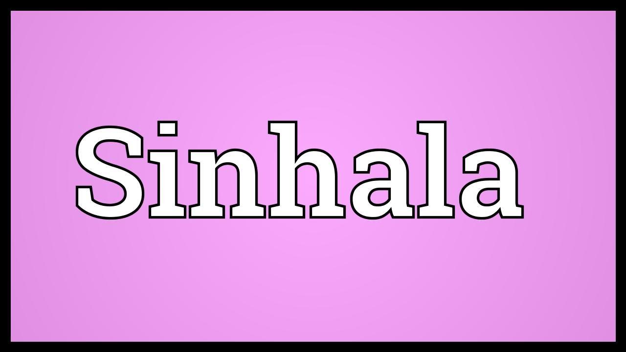 Sinhala Meaning Youtube