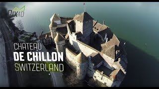 Pix4D Chillon Project: 3D model using drones and cameras