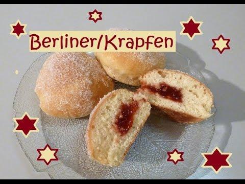 Leckere Berlinerkrapfen Aus Dem Backofen Daher Kalorienärmer
