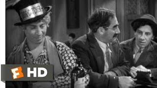 Horse Feathers (3/9) Movie CLIP - Recruiting at the Speakeasy (1932) HD