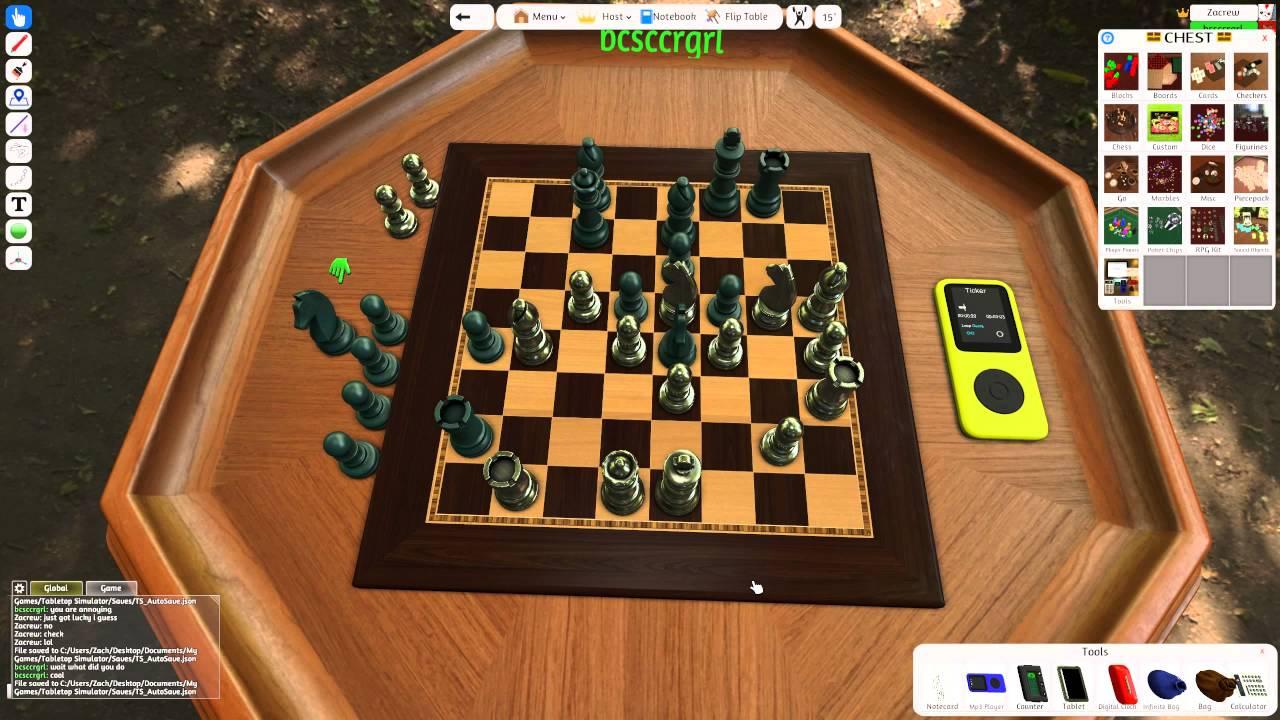 Chess simulator