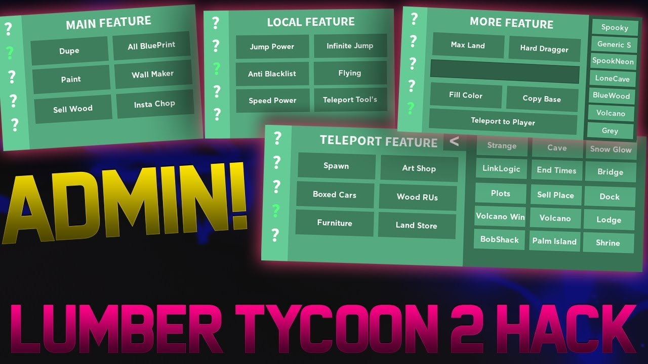 Free Lumber Tycoon 2 Admin Gui Flying Money Dupe More Roblox Hackexploit   2021 - roblox hacks and exploits   2021