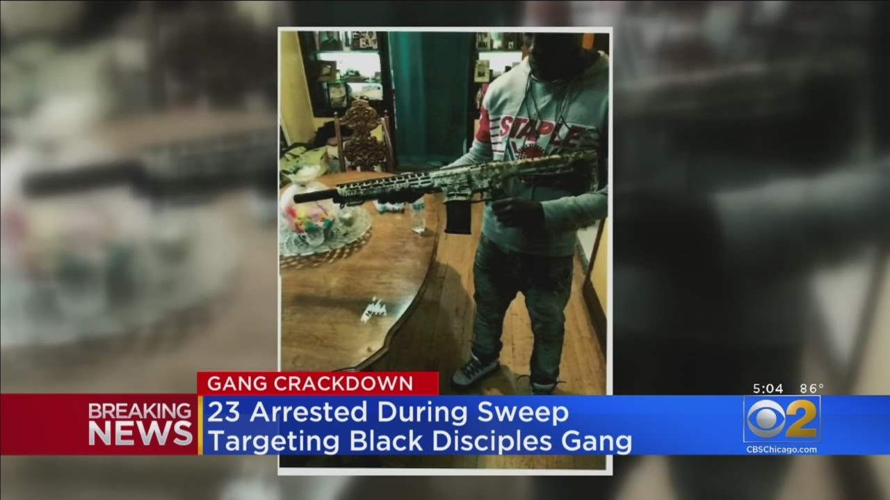 23 Arrested During Sweep Targeting Chicago Gang