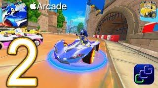 SONIC Racing Apple Arcade Gameplay - Part 2 - League II