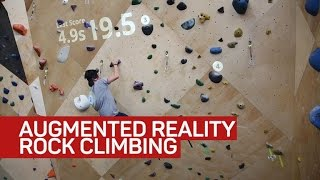 Rock climbing gets a tech twist with augmented reality