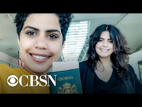 Saudi sisters flee domestic abuse and lack of rights