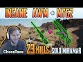 INSANE AWM + M762 | Chocotaco 23 kills solo FPP MIRAMAR | PUBG HIGHIGHTS TOP 1 #154