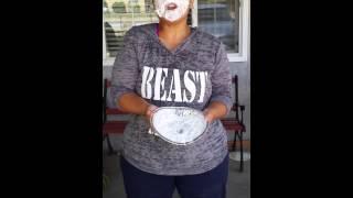 Mrs Doubtfire Whiiped Cream challenge