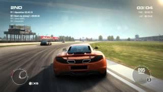 GRID 2 PC Multiplayer Race Gameplay: Tier 3 Upgraded Mclaren MP4-12c in Indianapolis, GP Circuit