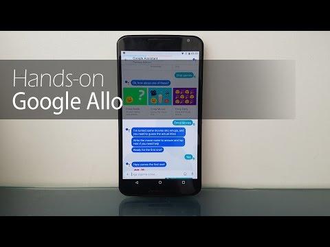 Primeiras impressões Google Allo | Tudocelular.com