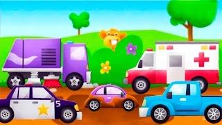 Мультфильм про машинки. История о машинке грязнуле - развивающие видео для детей.