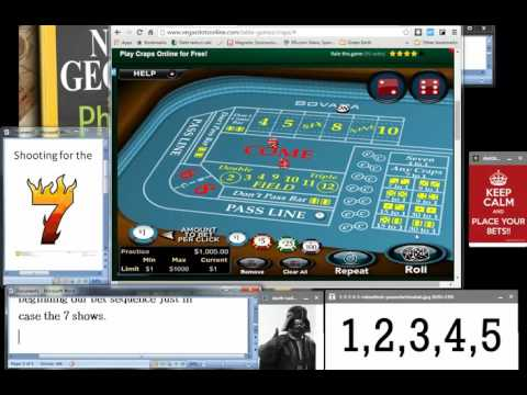 Win $723 in Craps Every Hour!... even on Slow Tables