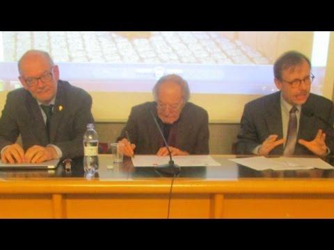 """Salvatore Veca, Fulvio Ferrario e Lothar Vogel  """"La Riforma e L'Europa"""""""