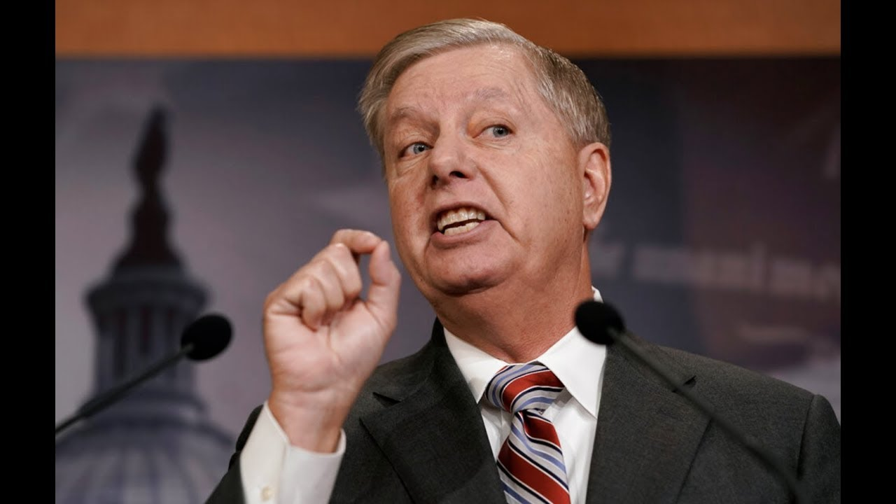 BURNING QUESTION: Lindsey Graham ASKED will there be Witnesses at Impeachment Trial - GSP