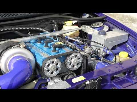 escort cosworth 640HP S300SX test powered by Oppliger Motorsport