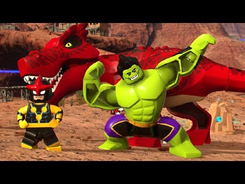 LEGO Marvel Super Heroes 2 - All Champions DLC Characters