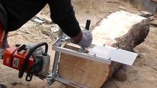 mkiii small log mill and mini mill demo