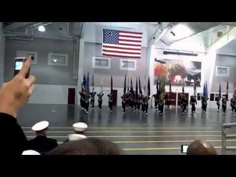 US Navy (Pass And Review) Graduation 2013