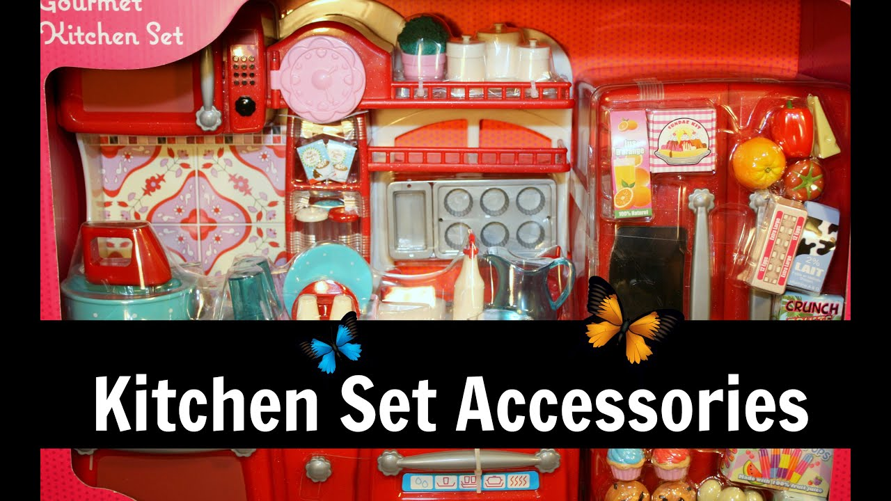 American Diner Kitchen Accessories Our Generation Kitchen Part 2 Accessories Food Kitchenware
