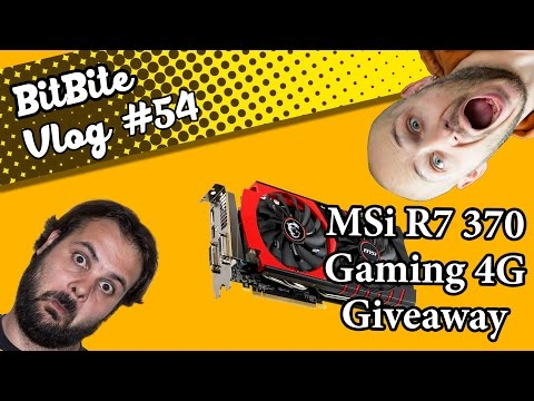 (Tελείωσε)MSi R7 370 Gaming 4G Suicide Squad Givaway(GR/CY). Vlog #54.