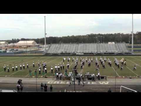 Pride of Pickens Marching Band Creekview Competition 2015