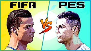 CRISTIANO RONALDO evolution FIFA vs PES [2003 - 2020]