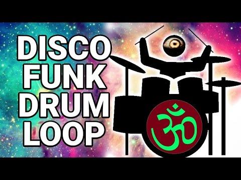 Free DISCO FUNK DRUM LOOP 120 bpm