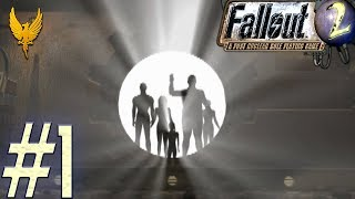 Let's play Fallout 2 (BLIND) - #1 The Temple