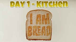 I am Bread - Kitchen - Day 1 [Father & Son Co-op] Gameplay, Commentary