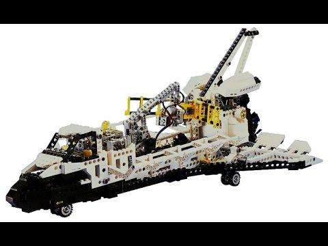Lego Technic Technik BAUANLEITUNG BA 1 Buch für #8480 Space Shuttle 29