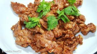 แจกสูตรหมูกระเทียมพริกไทย ที่ทำง่ายๆแต่อร่อยมาก Pork with Garlic