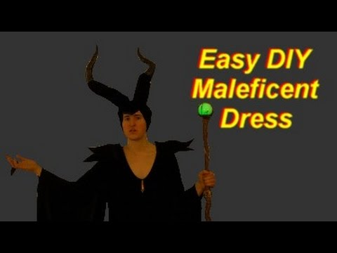 How To Make A Maleficent Costume Dress Easy